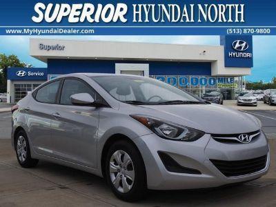 2016 Hyundai Elantra GLS (shimmering air silver)