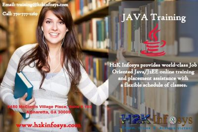 Java Online Training and Job Readiness Assistance By H2kinfosys