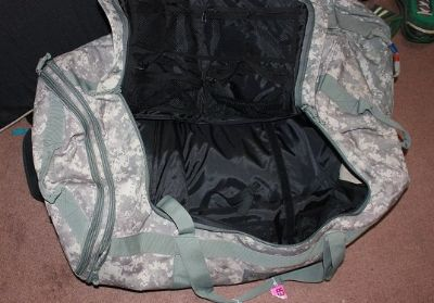 Extra large military travel bag