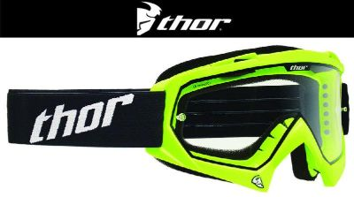 Sell Thor Youth Enemy Flo Green Dirt Bike Goggles Motocross MX ATV 2014 motorcycle in Ashton, Illinois, US, for US $29.95