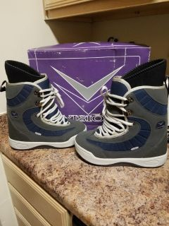 "Men's Vision ""Velocity"" Snowboard Boots Sz 10"