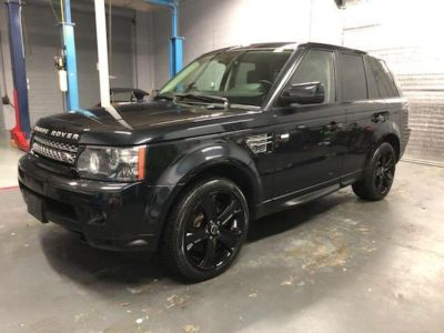 2012 Land Rover Range Rover Sport HSE LUX (Black)