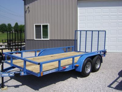 Trailers Single Axel, Tandems, and Flatbeds Starting @