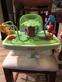Fisher Price rainforest booster seat