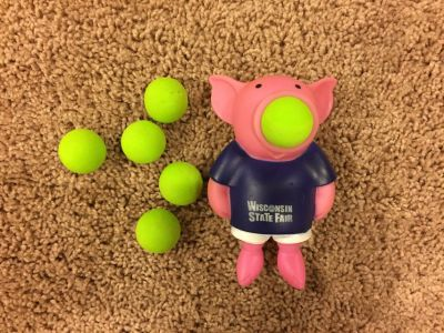 Reduced: Pig Ball Popper