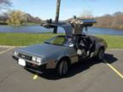 1981 DeLorean DMC 12 Coupe Wing Doors