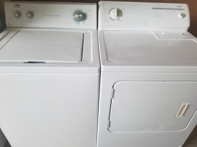 Whirlpool Kenmore Washers Dryer Set
