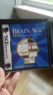 Nintendo DS Brain Age 2 game