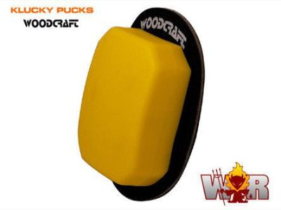 Sell Klucky Double Thick Endurance/Rain Pucks Knee Sliders by Woodcraft - Yellow Pair motorcycle in Ashville, Pennsylvania, United States, for US $56.99