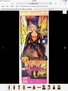 Halloween Charm Barbie Doll Mattel 2006