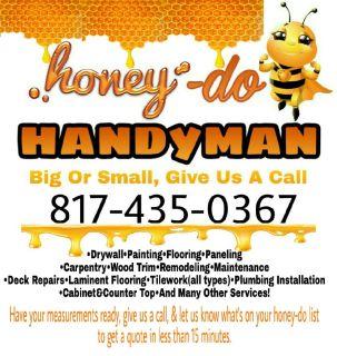 Honey-do handyman services