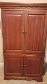 Tv stand or armoire/ entertainment piece, in good used condition