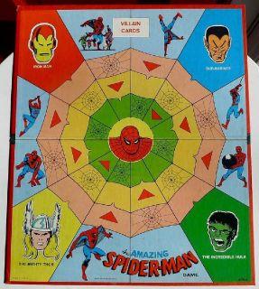 '67 SPIDERMAN Game Board