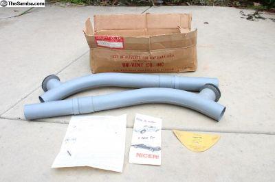 NOS Ghia Uni Vent Fresh Air Kit For Ghia