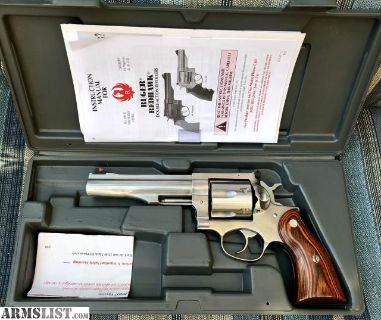 For Sale: Ruger Redhawk .44mag 5.5