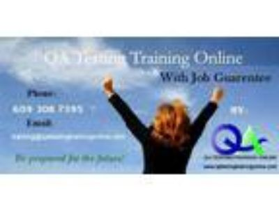 QA Job Oriented OnlineTutoring Classes With Placements
