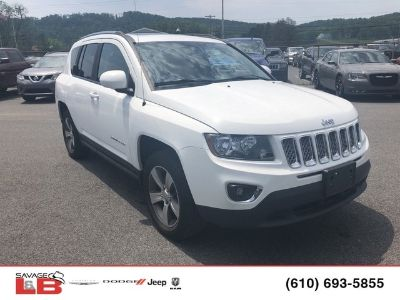 2016 Jeep Compass Latitude (White)