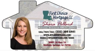 First Choice Mortgage, LLC 100 financing options, and 3 down payment assistance available
