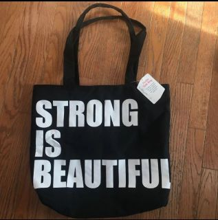 Strong is Beautiful Tote Bag