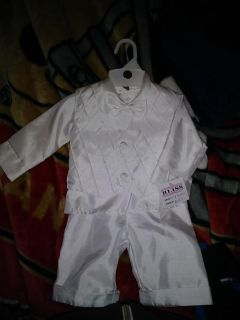 Baby blessing outfit. 0-6months