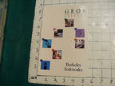vintage video game item: GEOS products catalog Berkeley
