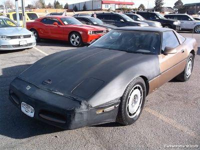 1987 Chevrolet Corvette Base (Black/Bronze)