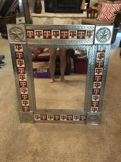 Aggie mirror approx 24 x29 . Great for that dorm room or apartment