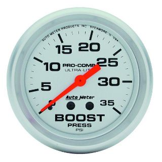 "Buy Auto Meter 4404 Ultra Lite 2 5/8"" Mechanical Boost Gauge 0-35 PSI motorcycle in Greenville, Wisconsin, US, for US $97.15"