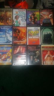 pre owned DVD's $1 each or 12 for $10