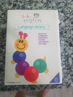 Baby Einstein language nursery DVD for visual and multilingual experiences ages 0 to 3