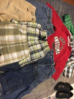 Lot of Boys Clothes 18m to 2T