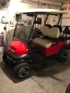 2016 club car electric golf cart