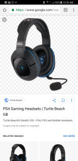 ISO turtle beach headset for PS4