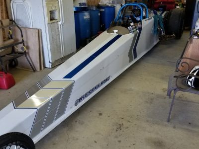 2015 Diamond dual-suspended dragster