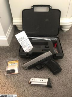 For Sale: Springfield XDS 4.0 9mm