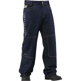 Purchase Blue W38 Icon Insulated Denim Riding Pant motorcycle in San Bernardino, California, US, for US $125.00