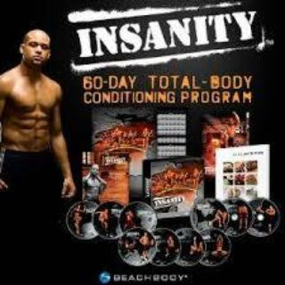 INSANITY workout Shaun T NEW