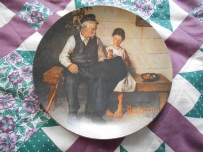 Norman Rockwell plate- The Lighthouse Keepers Daughter
