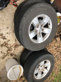 2014 ram 1500 rims and tires