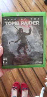 Rise of the tomb raider Xbox One game