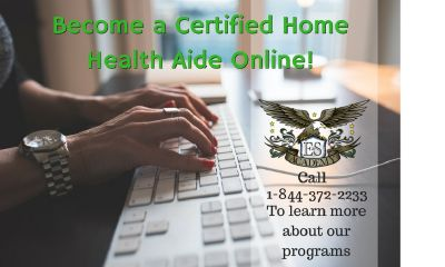 Online CHHA Classes, call 609-227-4488