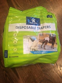 Disposable dog diapers 10 ct