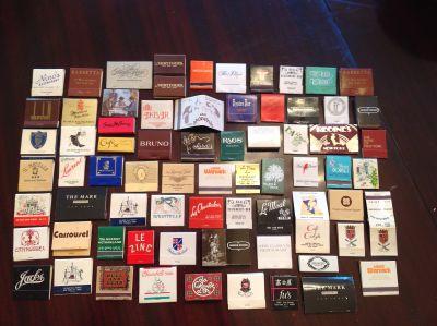 Vintage New York Hotel and Restaurant Matchbooks