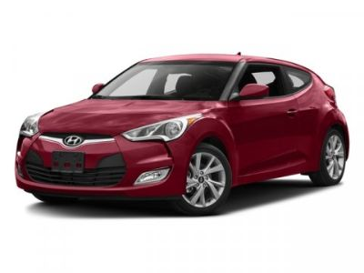 2016 Hyundai Veloster Base (Boston Red)