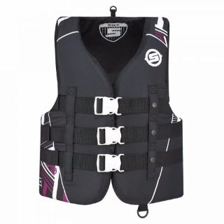 Find SEA DOO OEM WOMEN'S VIBE PFD LIFE VEST LIFE JACKET BLACK PINK L, XL, 3XL motorcycle in Lanesboro, Massachusetts, United States, for US $38.99