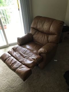 Tan Sofa Recliner
