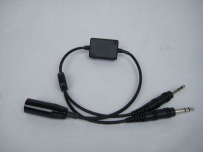 Buy Military Headset Impedance Adapter Converts Military to GA motorcycle in Pleasant Hill, Missouri, United States, for US $80.00