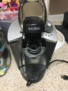 Keurig 6 cups 3 sizes good condition