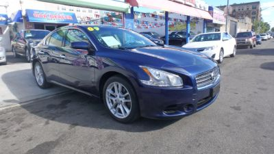 2009 Nissan Maxima 3.5 SV (Navy Blue Metallic)