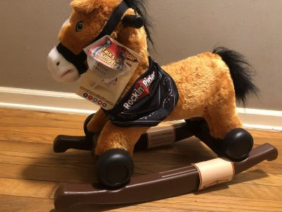 Rocking horse new with tag